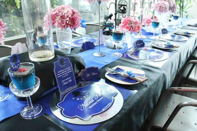 Nurull's Electric Blue Birthday Lunch by 1994 Decoration - 004