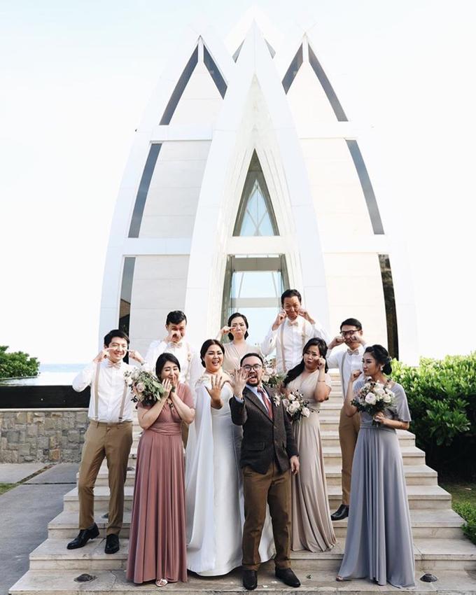 David and Michelle in Bali by Tea Rose Wedding Designer - 005