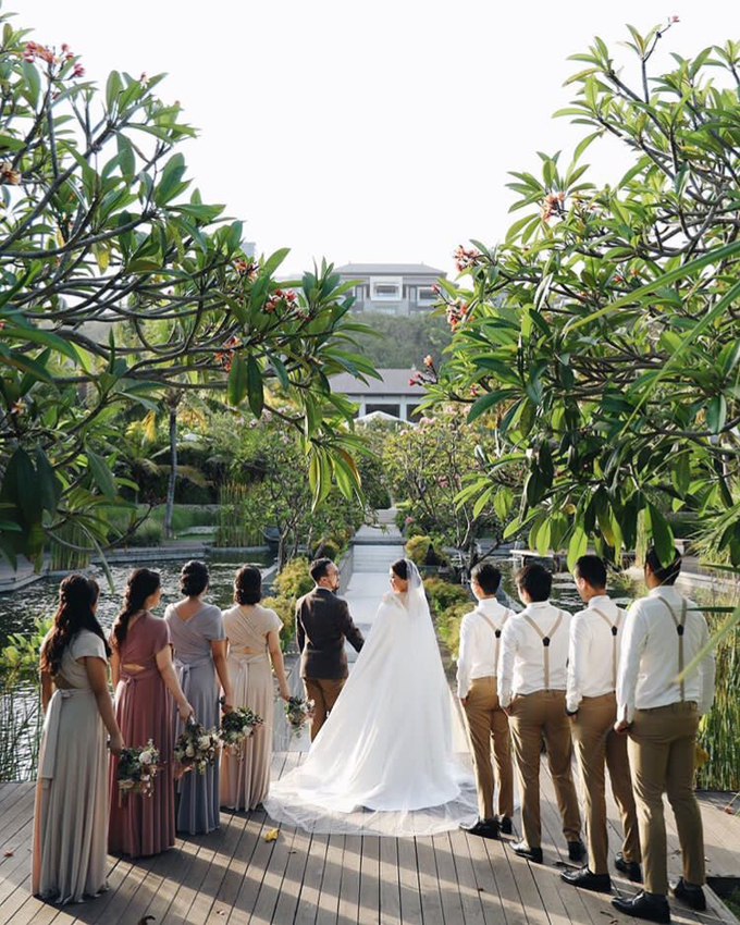 David and Michelle in Bali by Tea Rose Wedding Designer - 006