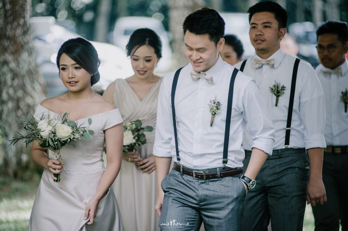 Darren & Calestina Wedding by Pine Hill Cibodas - 001