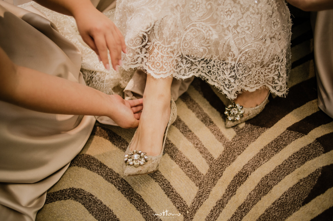 Darren & Calestina Wedding by Pine Hill Cibodas - 011