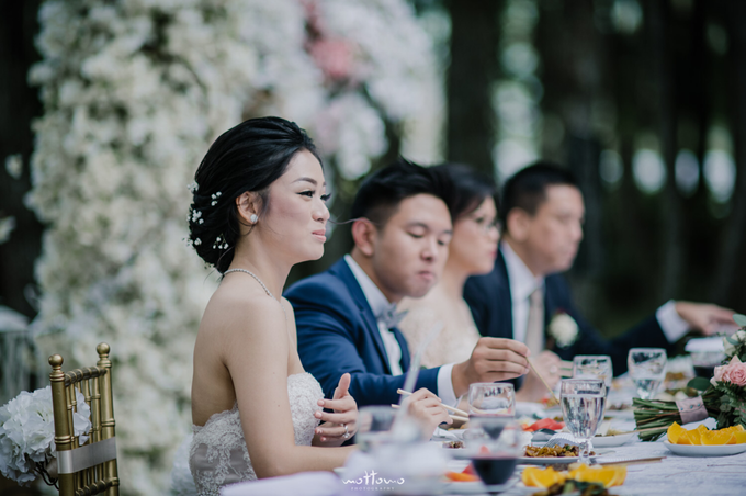 Darren & Calestina Wedding by Pine Hill Cibodas - 032
