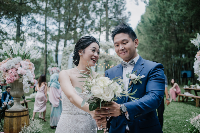 Darren & Calestina Wedding by Pine Hill Cibodas - 034