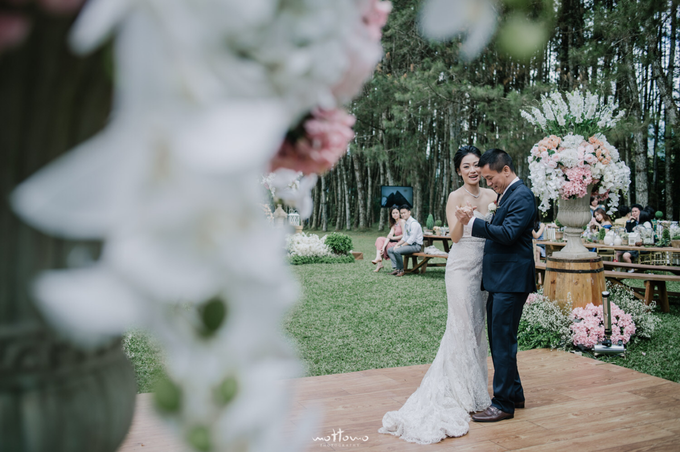 Darren & Calestina Wedding by Pine Hill Cibodas - 037