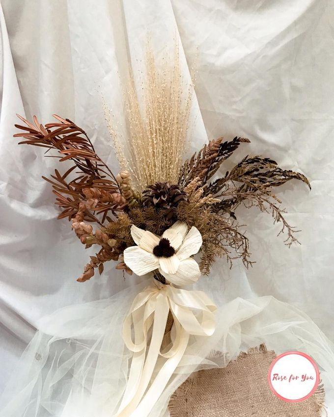 Rustic Bouquet by Rose For You - 001
