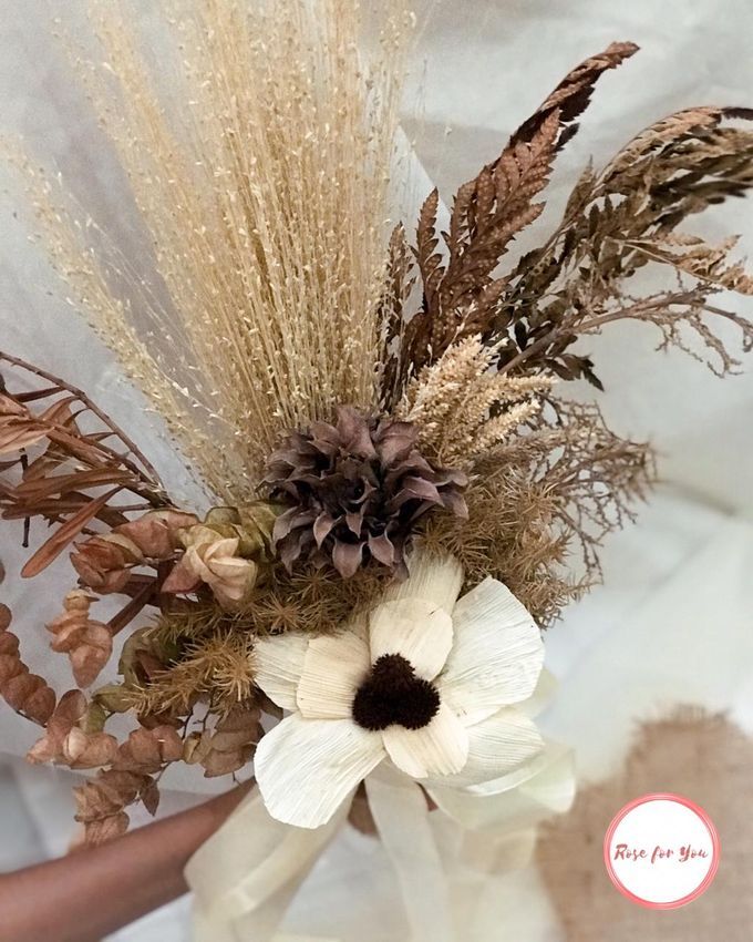 Rustic Bouquet by Rose For You - 002