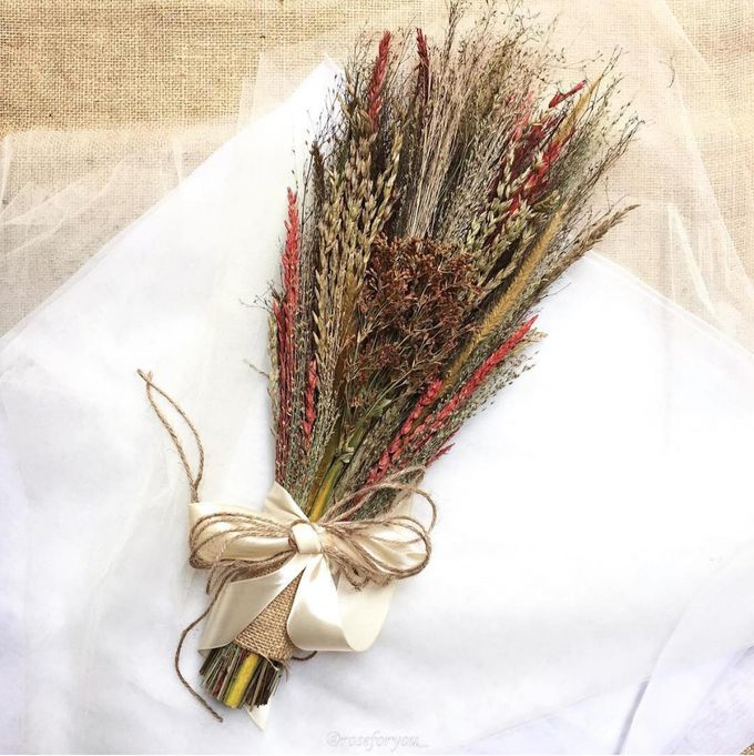 Rustic Bouquet by Rose For You - 005