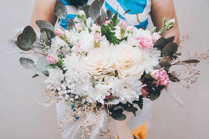 Yevita Wedding Bouquet by Floral Treats - 005