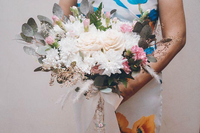 Yevita Wedding Bouquet by Floral Treats - 002