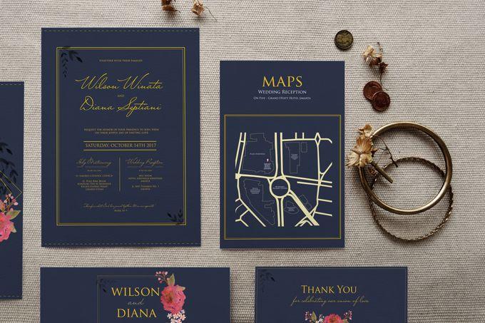 Wilson & Diana by Petite Chérie Invitation - 002