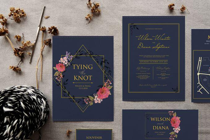 Wilson & Diana by Petite Chérie Invitation - 003