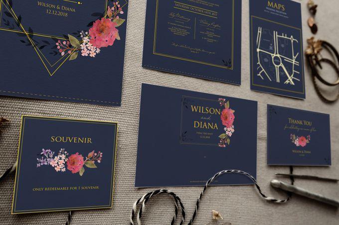 Wilson & Diana by Petite Chérie Invitation - 004