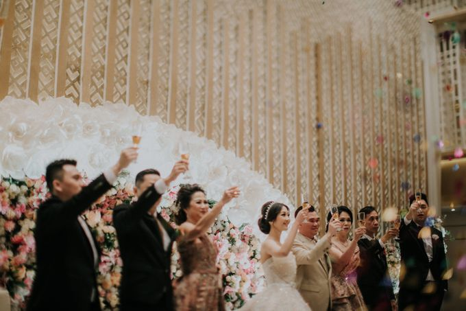 Ryan & Stella Wedding Reception by Soko Wiyanto - 025