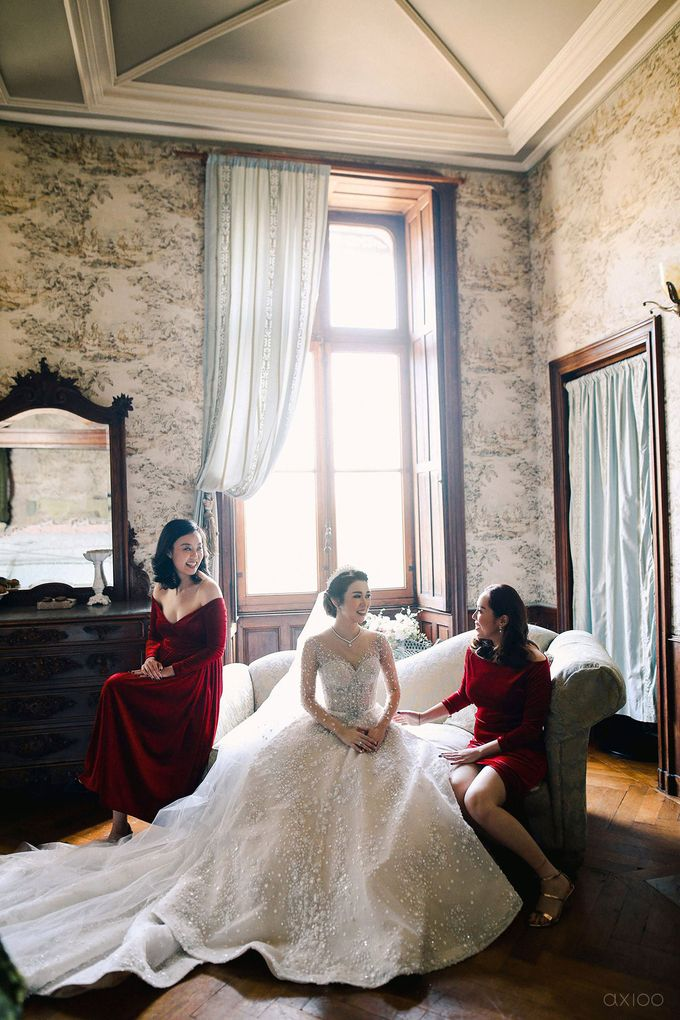 The Castles We Have Build -  The Wedding of Ryan and Dewi by William Lie by Axioo - 011