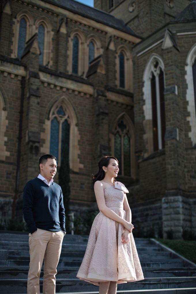 Reynold & Nadia Melbourne Prewedding by Hope Portraiture - 002