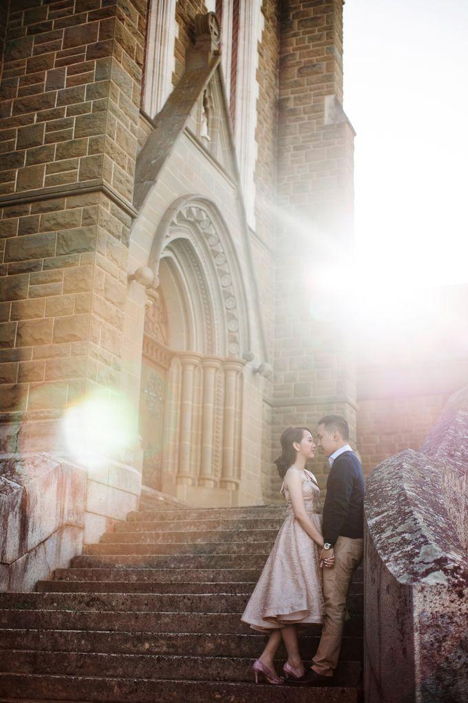 Reynold & Nadia Melbourne Prewedding by Hope Portraiture - 005