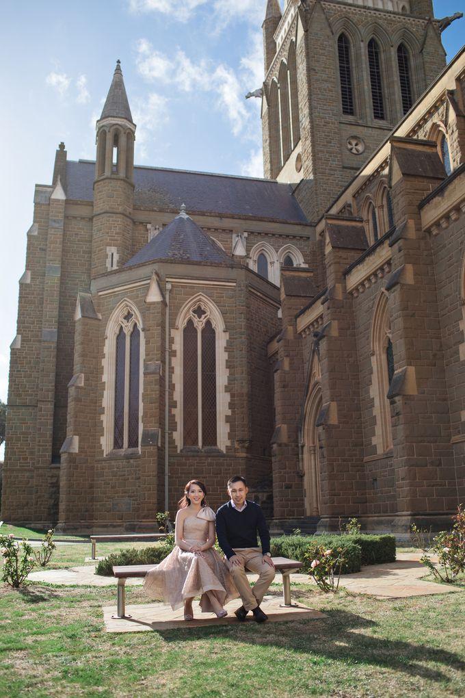 Reynold & Nadia Melbourne Prewedding by Hope Portraiture - 006