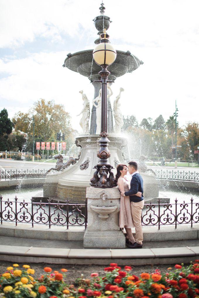 Reynold & Nadia Melbourne Prewedding by Hope Portraiture - 011
