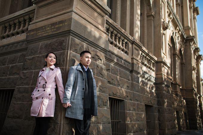 Reynold & Nadia Melbourne Prewedding by Hope Portraiture - 013