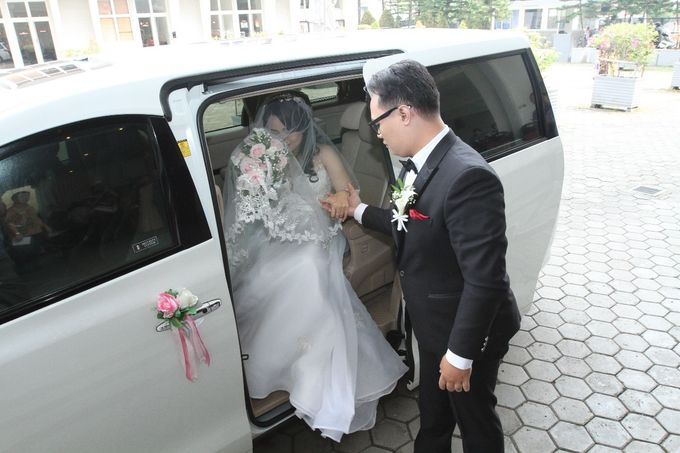 Best wishes for a fun-filled future together by sapphire wedding car - 002
