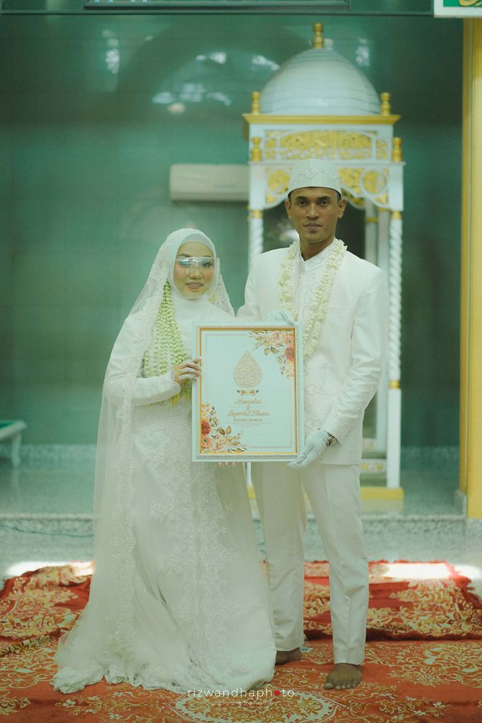 The Wedding Of Isya & Aan by Rizwandha Photo - 021