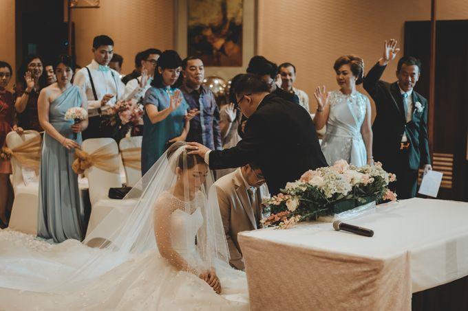 Anton & Cynthia Wedding Day by Mimi kwok makeup artist - 021