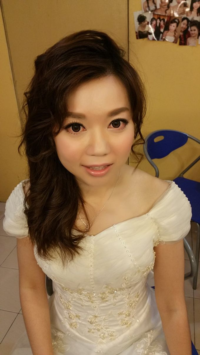 Bridal Makeup and hairstyling by Weiyee-makeup - 009