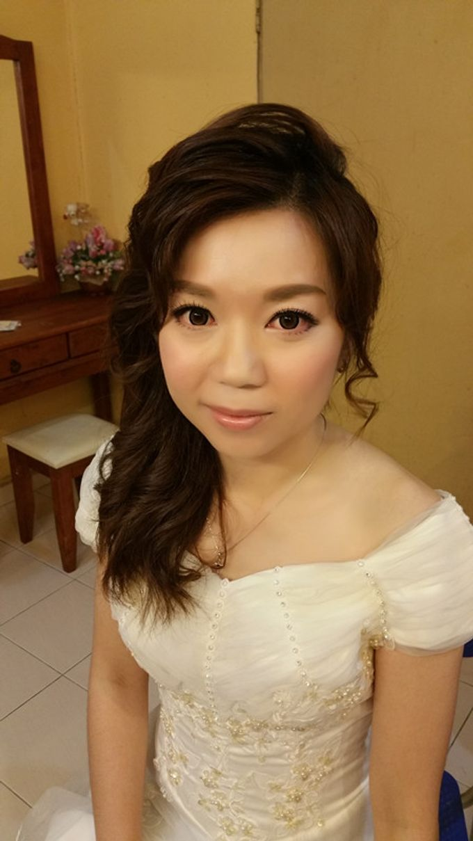 Bridal Makeup and hairstyling by Weiyee-makeup - 008