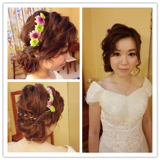Bridal Makeup and hairstyling by Weiyee-makeup - 003