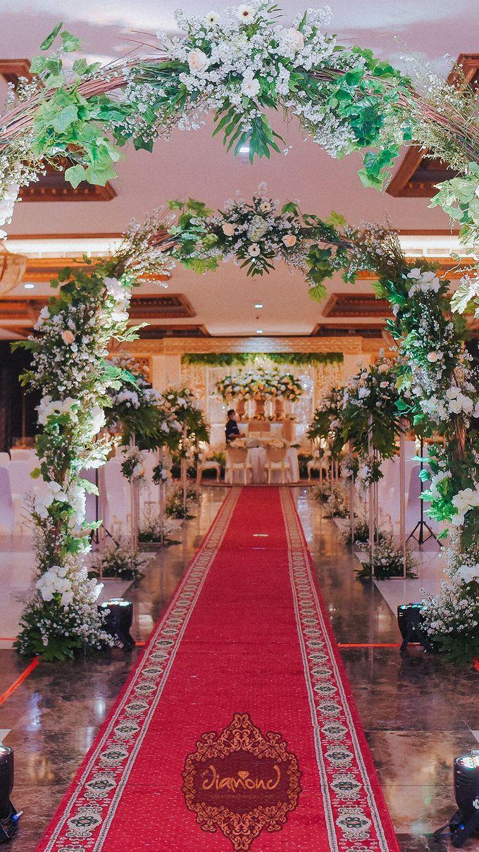 The Wedding of Isa & Bayu by Diamond Weddings - 010