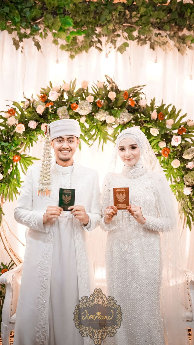 The Wedding of Salsabilla & Hisyam by Diamond Weddings - 004