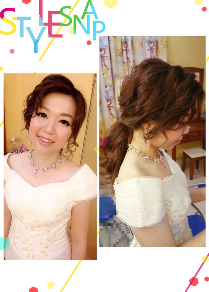 Bridal Makeup and hairstyling by Weiyee-makeup - 007