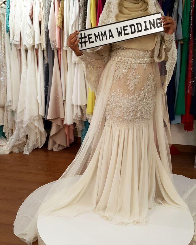Nikah Wedding Dress by Emma Wedding - 022
