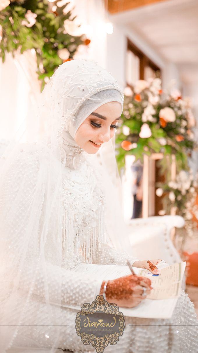 The Wedding of Salsabilla & Hisyam by Diamond Weddings - 005
