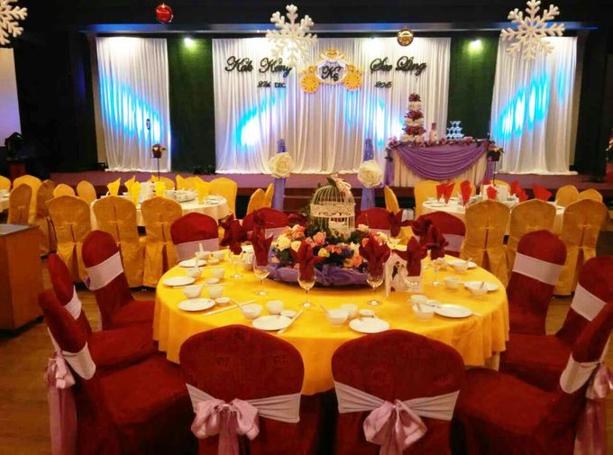 Stage Backdrop Design by Wedding And You - 037