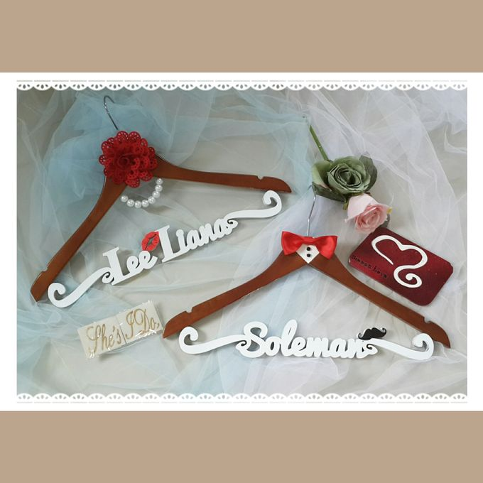 Wedding Hanger Name by Sweetlovecollection - 010
