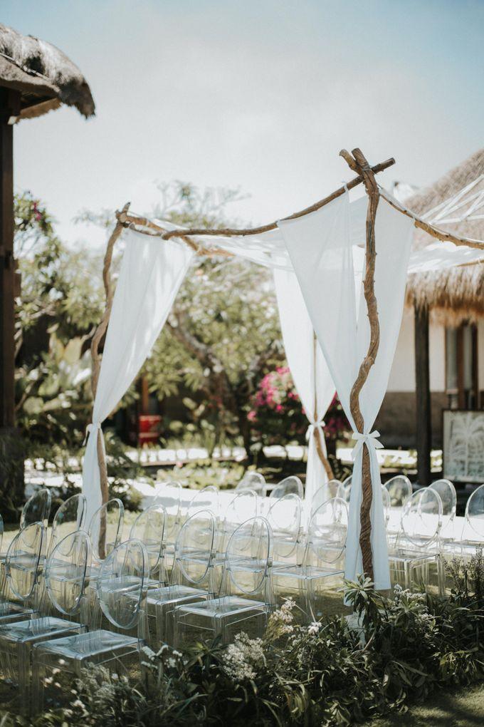 Chris & Calista Real Wedding at The Stone House by Tirtha by Tirtha Bali - 017