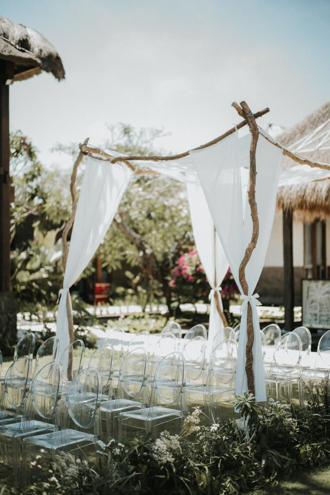 Chris & Calista Real Wedding at The Stone House by Tirtha by Tirtha Bridal - 017