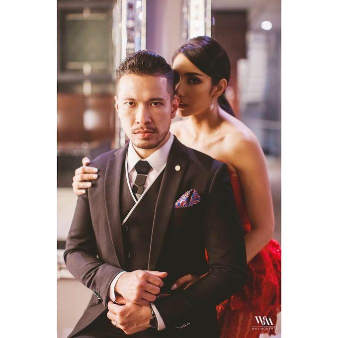 Mr Raden Soejono and Ms Tyas Mirasih Pre Wedding Photoshoot by Mondial Jeweler - 001
