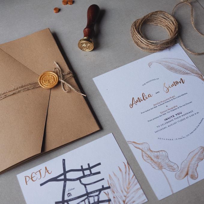 Wedding Invitation Amilia & Simon  by Sae Creative - 004