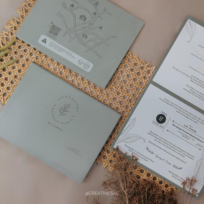 Wedding Invitation Yocky dan Sasha by Sae Creative - 005