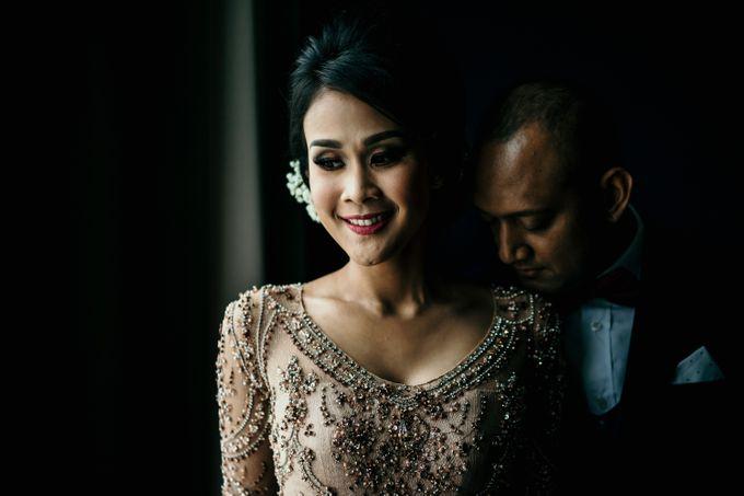 Wedding Reception at Pondok Indah Golf by Yoga Septa Make Up Artist - 027
