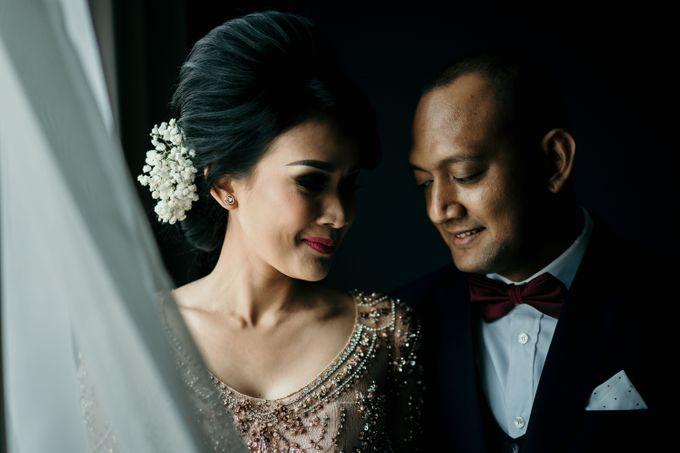 Wedding Reception at Pondok Indah Golf by Yoga Septa Make Up Artist - 028