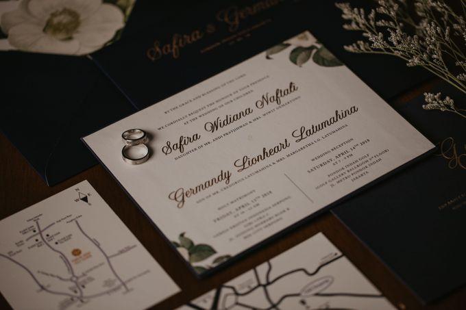 Wedding Reception at Pondok Indah Golf by Yoga Septa Make Up Artist - 002