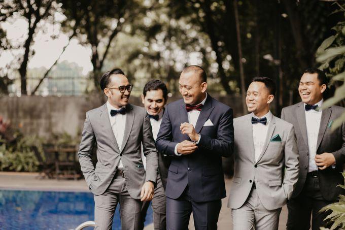 Wedding Reception at Pondok Indah Golf by Yoga Septa Make Up Artist - 011