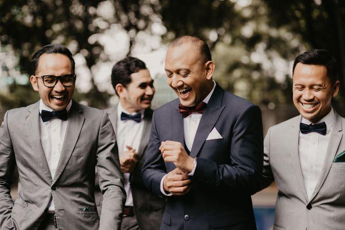 Wedding Reception at Pondok Indah Golf by Yoga Septa Make Up Artist - 012