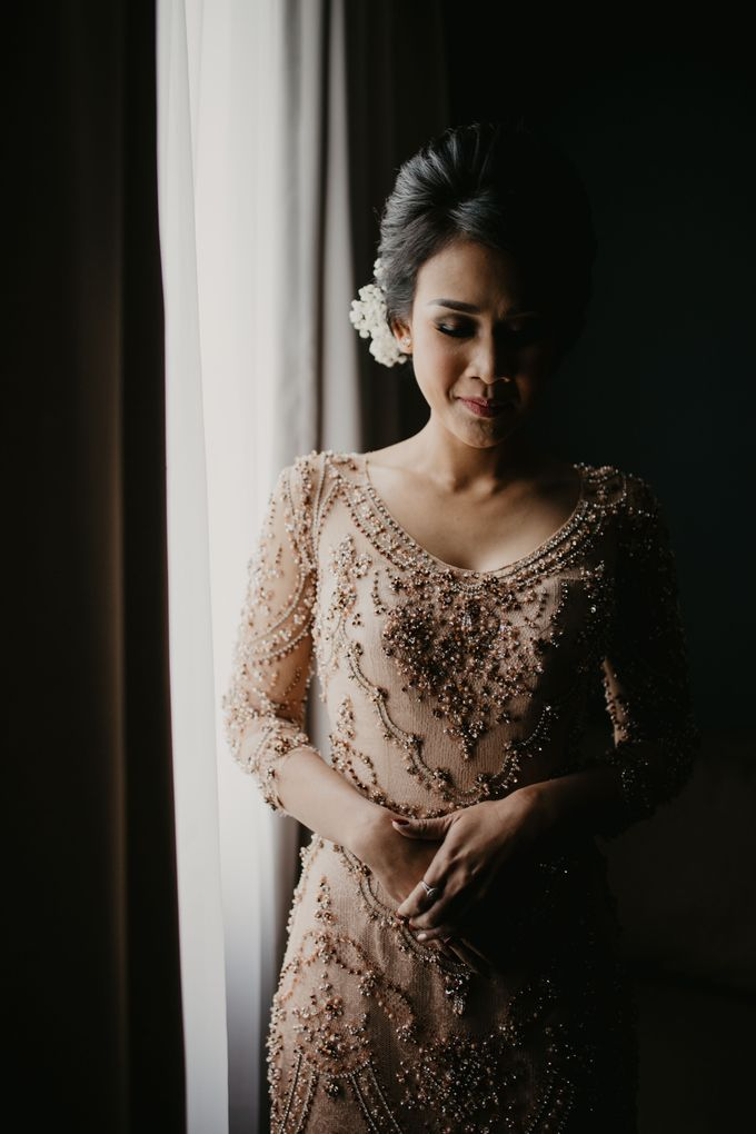 Wedding Reception at Pondok Indah Golf by Yoga Septa Make Up Artist - 008