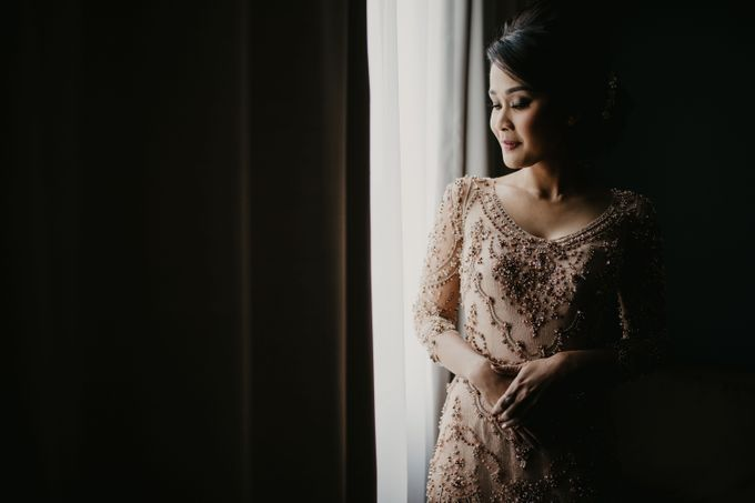 Wedding Reception at Pondok Indah Golf by Yoga Septa Make Up Artist - 010