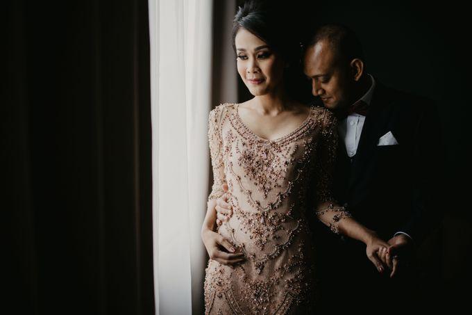 Wedding Reception at Pondok Indah Golf by Yoga Septa Make Up Artist - 005