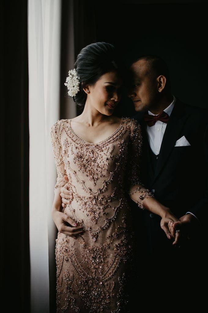 Wedding Reception at Pondok Indah Golf by Yoga Septa Make Up Artist - 016